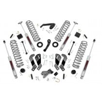 """Rough Country 3.5"""" Suspension Lift Kit with Control Arm Drop and Premium N3 Shocks for Jeep Wrangler Unlimited JK"""