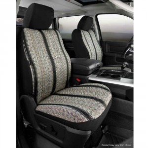 Rear Bench Seat//Neoprene Center Panel NP92-71 GRAY FIA NP92-71 Black with Gray Cover