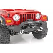 Rough Country Jeep Full Width Front LED Winch Bumper (87-06 Wrangler YJ/TJ)