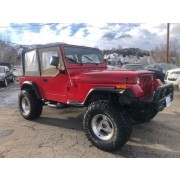 """Rough Country 2.5"""" Suspension Lift Kit with Premium N3 Shocks and Leaf Springs for Jeep Wrangler YJ"""