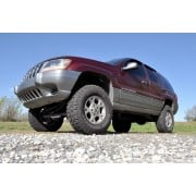 """Rough Country 4"""" Suspension Lift Kit with Premium N3 Shocks for Jeep Grand Cherokee WJ"""