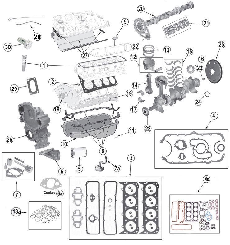 Jeep Engine Parts AMC V-8 5.0L 304 and 5.9L 360 Page 1 at Morris 4x4 Center | 1980 Jeep Wiring Diagram With 304 Engine |  | Morris 4x4 Center