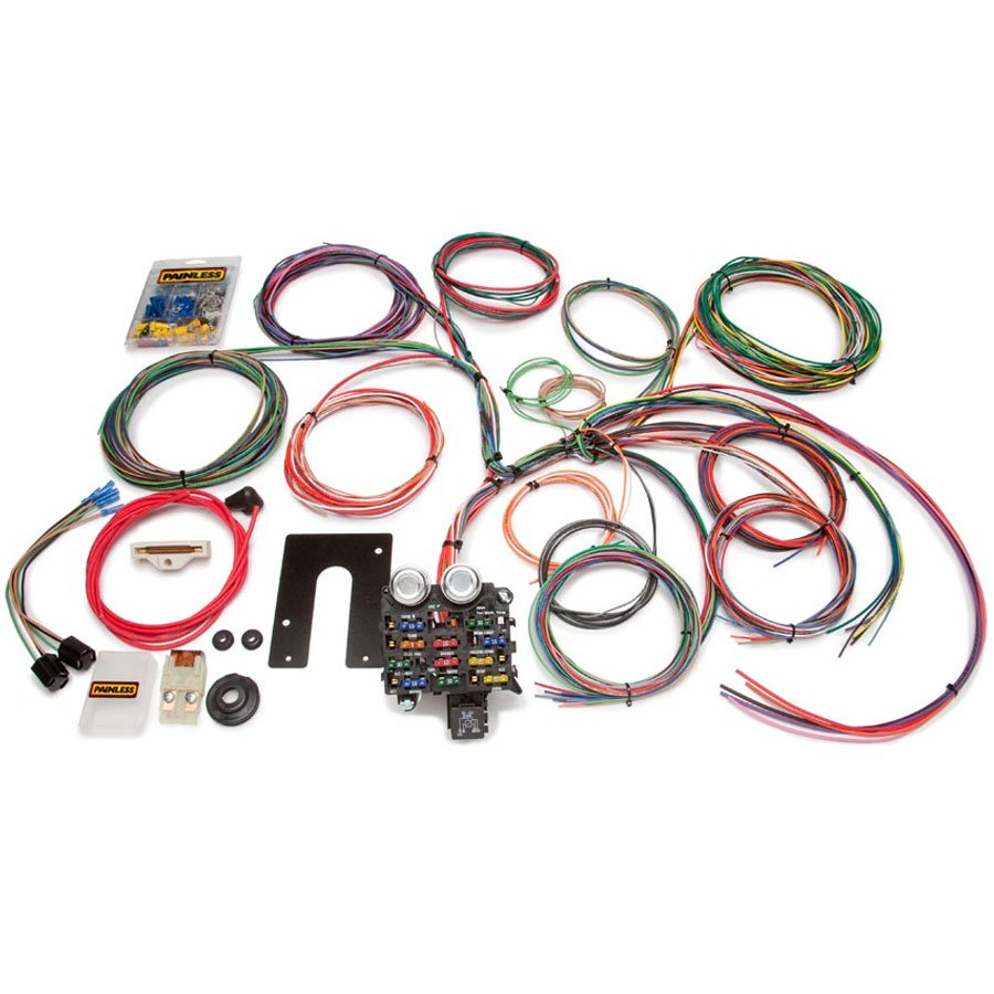 12-Circuit Wiring Harness Complete Kit, Painless 10105Morris 4x4 Center