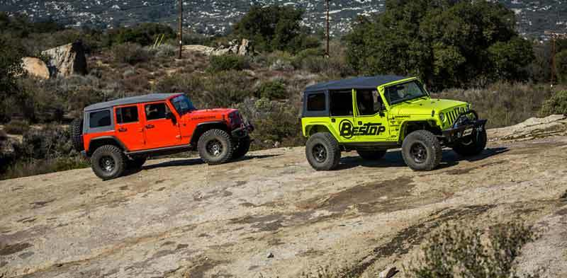 Jeep Knowledge Center New Bestop Colored Soft Tops