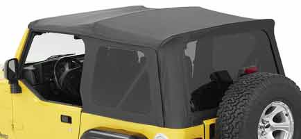 Replacement Soft Tops Fabric Only; Complete Jeep ...