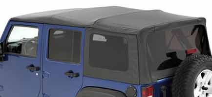 Fabric Only; Complete Jeep Soft Tops Includes Hardware