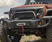 Free Winch With Bumper Set