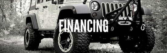 Finance Jeep Parts