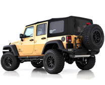 Jeep Replacement Soft Tops No Hardware