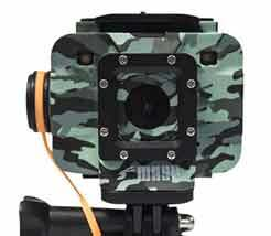 Jeep WASPcam 9906 Camo Action-Sports Camera