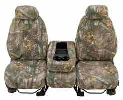 Jeep Covercraft Carhartt Custom Realtree Camo Front Bucket Seat Covers