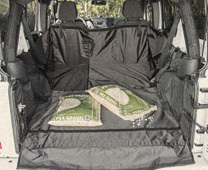 Jeep Cargo Area Cover