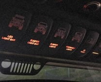 Jeep Switch Panels