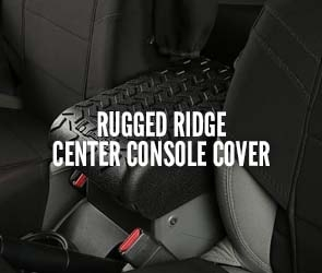 Rugged Ridge Center Console Covers
