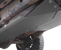 Jeep Fuel Tank Skid Plates