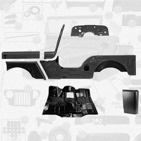 Jeep Body Parts