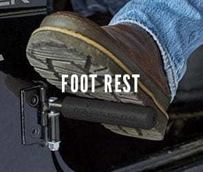 Jeep Foot Rest