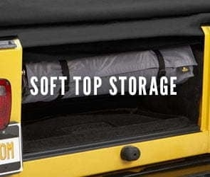 Jeep Soft Top Storage