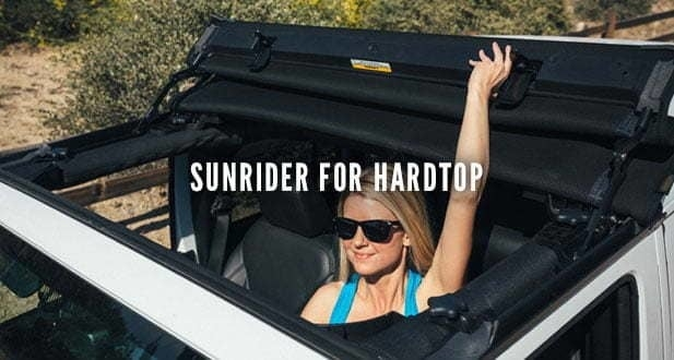 Jeep Sunrider for Hard Top