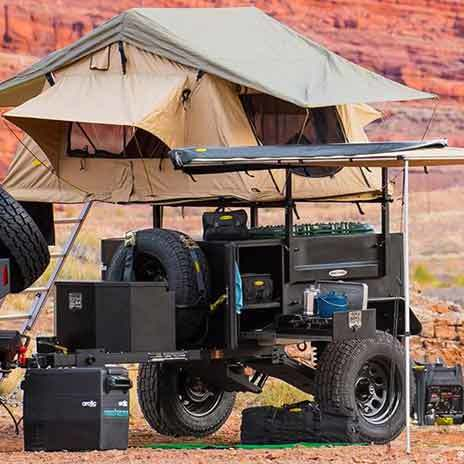 Jeep Smittybilt SCOUT Trailers