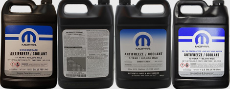 Jeep Antifreeze