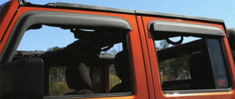 Jeep Window Visors