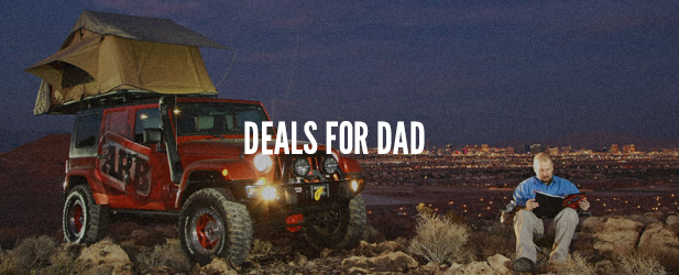 Deals For Dad | Jeep Accessories Sale