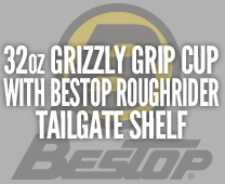 Grizzly Cup with Tailgate Shelf