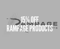 15% Off Rampage Products