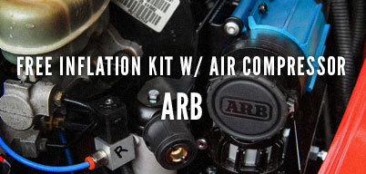 Free Inflation Kit with Air Compressor