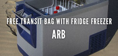 Free Transit Bag with Fridge Freezer