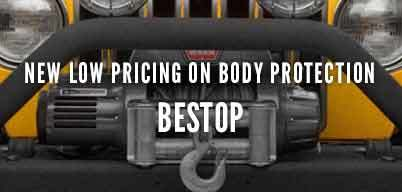 Bestop Body Protection New Low Pricing