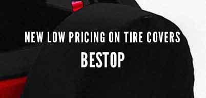 Bestop Tire Covers New Low Pricing