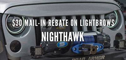 Nighthawk iLightbrows $30 Mail-In Rebate