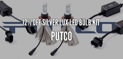 Putco Silver Lux LED Bulb Kit 12% Off