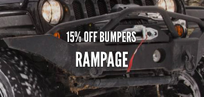 Rampage Bumpers 15% Off