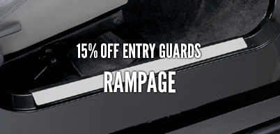 Rampage Entry Guards 15% Off