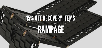 Rampage Recovery Items 15% Off