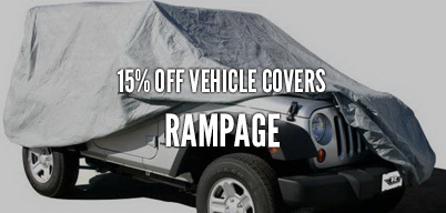 Rampage Vehicle Covers 15% Off