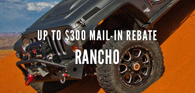 Rancho Up - To $300 Mail-In Rebate