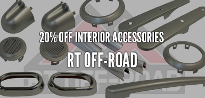 RT Offroad Interior Accessories 20% Off