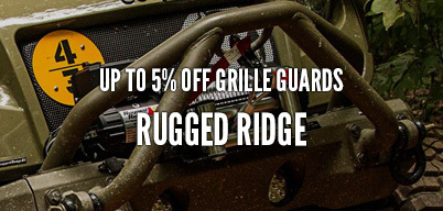 Rugged Ridge Grille Guards Up to 5% Off