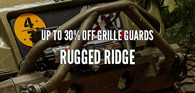 Rugged Ridge Grille Guards Up to 30% Off