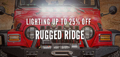 RUGGED RIDGE - LIGHTING & ACCESSORIES UP TO 25% OFF