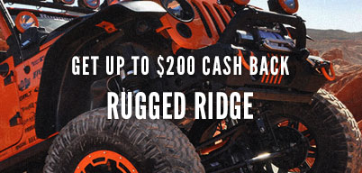 Rugged Ridge Get up to $200 Cash Back