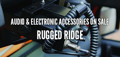 Rugged Ridge Audio & Electronic Accessories On Sale