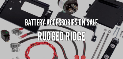 Rugged Ridge Battery Accessories On Sale