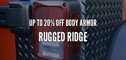 Rugged Ridge Body Armor Up to 20% Of
