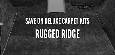Rugged Ridge Save On Deluxe Carpet Kits