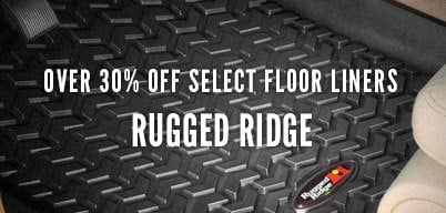 Rugged Ridge Select Floor Liners Over 30% Off